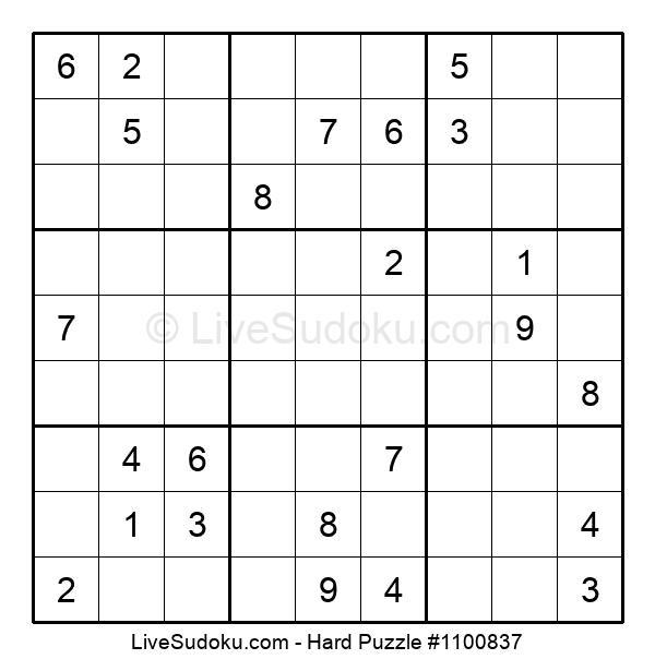Hard Puzzle #1100837