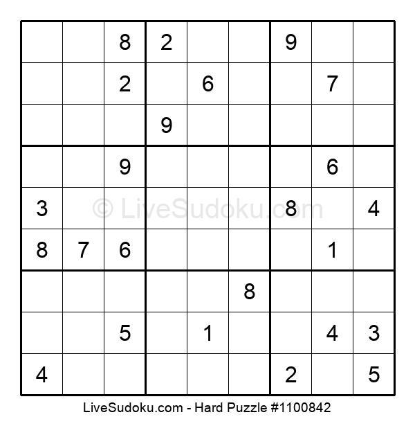 Hard Puzzle #1100842
