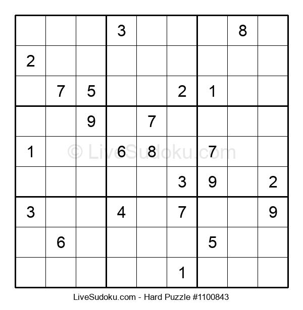 Hard Puzzle #1100843