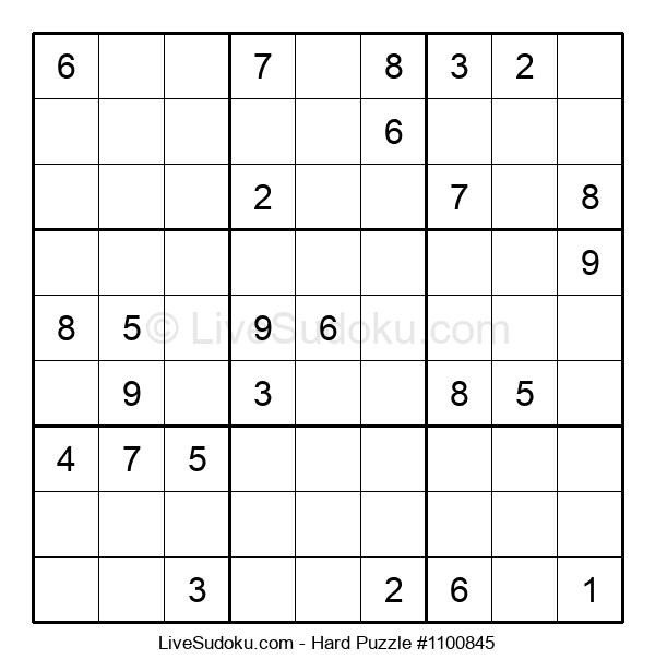 Hard Puzzle #1100845