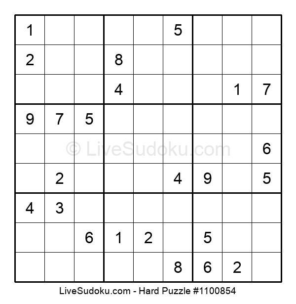Hard Puzzle #1100854