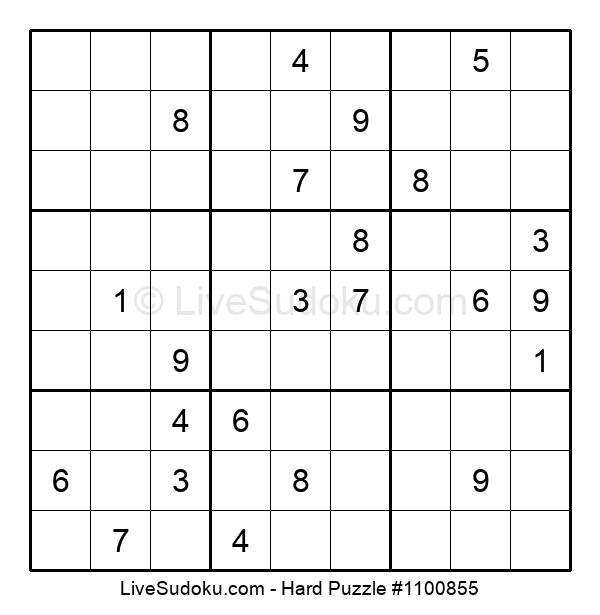 Hard Puzzle #1100855