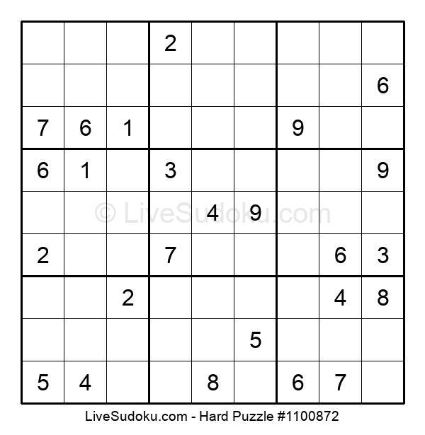 Hard Puzzle #1100872