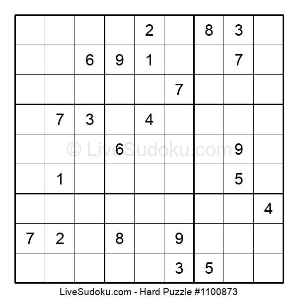 Hard Puzzle #1100873