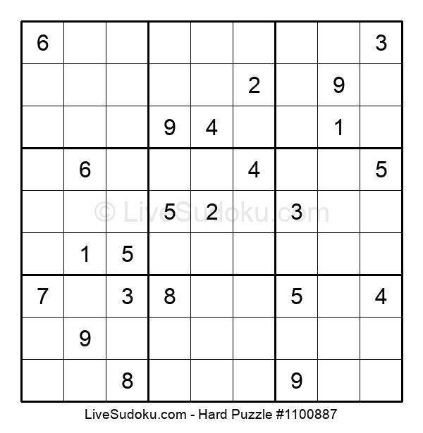 Hard Puzzle #1100887