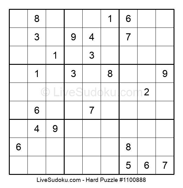 Hard Puzzle #1100888