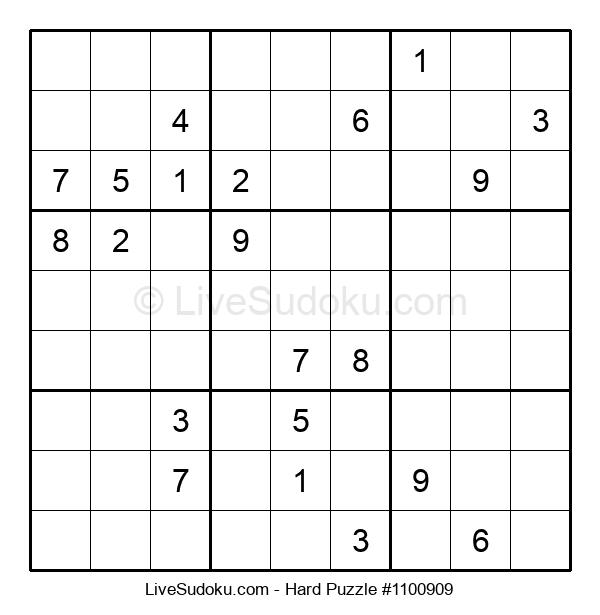 Hard Puzzle #1100909