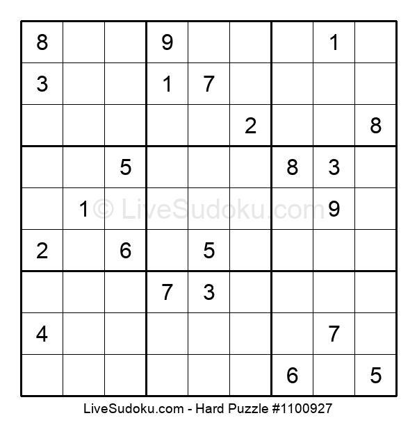 Hard Puzzle #1100927