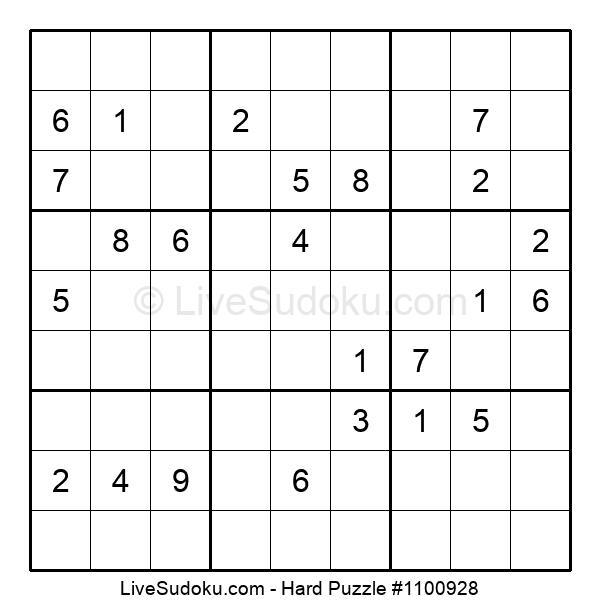 Hard Puzzle #1100928