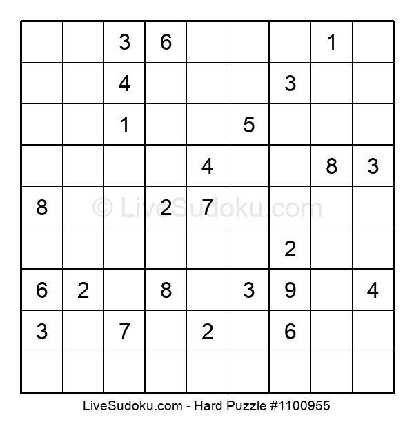 Hard Puzzle #1100955