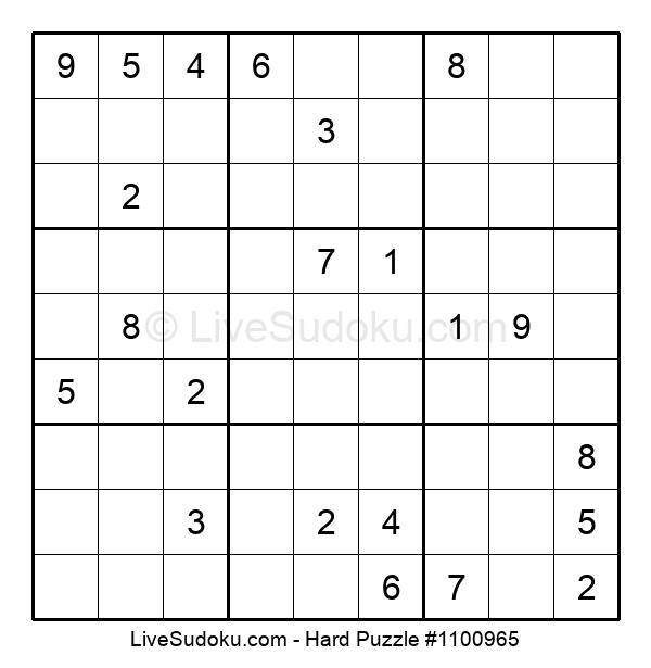 Hard Puzzle #1100965
