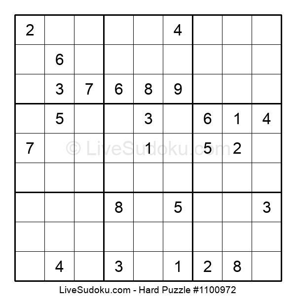 Hard Puzzle #1100972