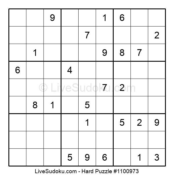Hard Puzzle #1100973