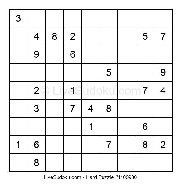 Hard Puzzle #1100980
