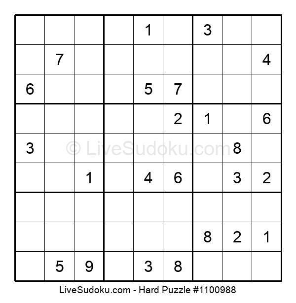 Hard Puzzle #1100988