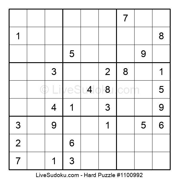 Hard Puzzle #1100992