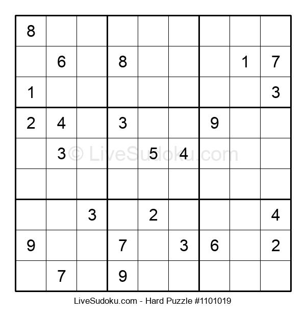 Hard Puzzle #1101019