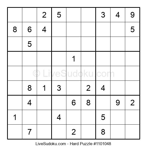 Hard Puzzle #1101048