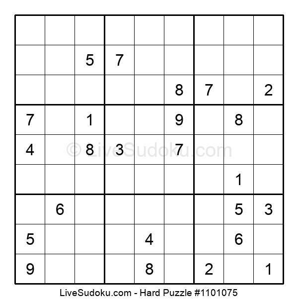 Hard Puzzle #1101075