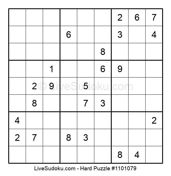 Hard Puzzle #1101079
