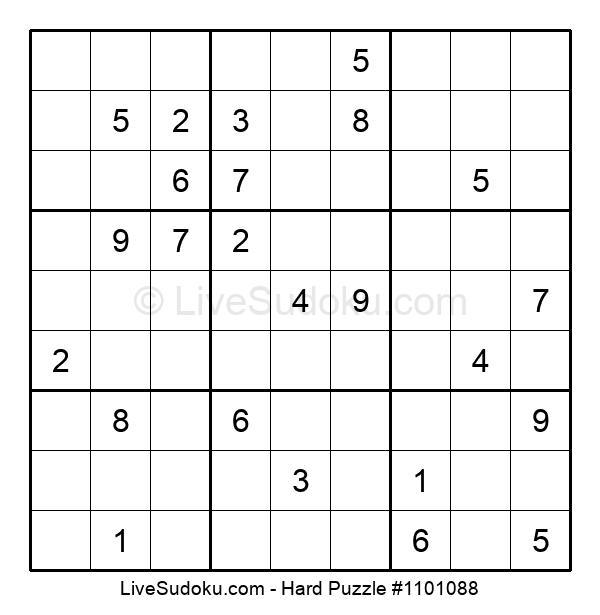 Hard Puzzle #1101088