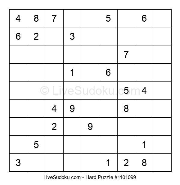 Hard Puzzle #1101099