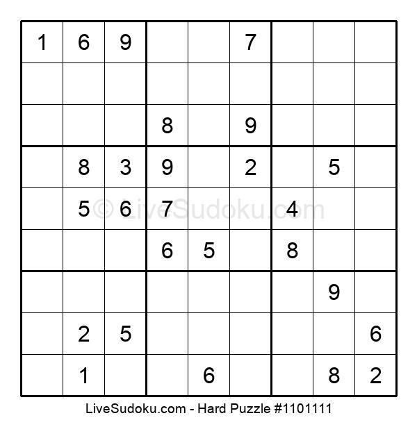 Hard Puzzle #1101111