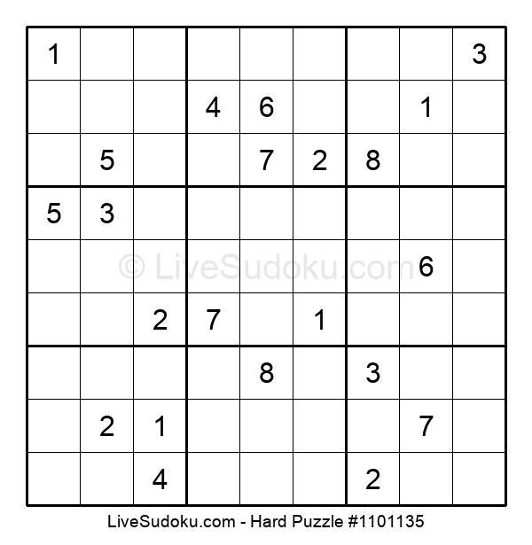 Hard Puzzle #1101135