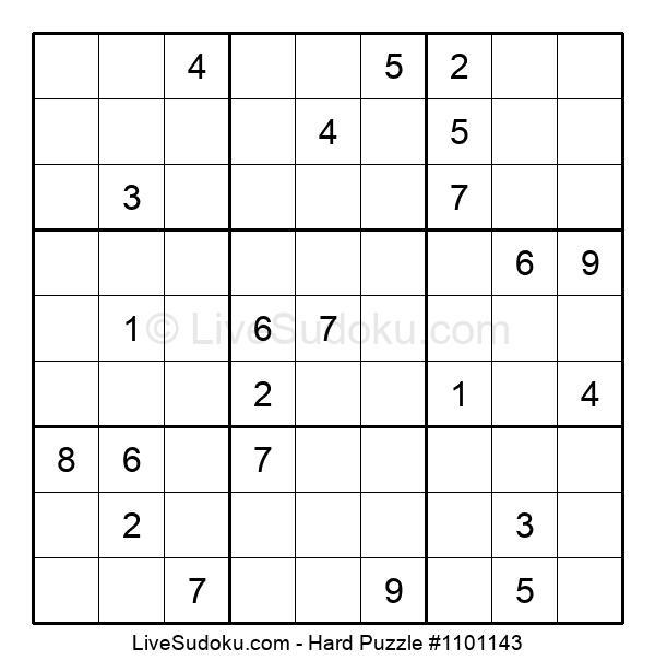 Hard Puzzle #1101143