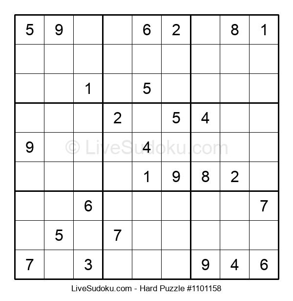 Hard Puzzle #1101158