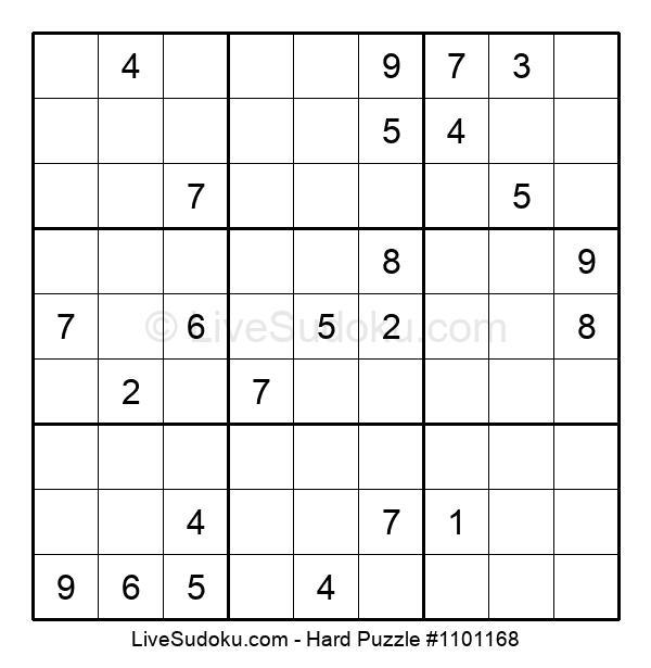 Hard Puzzle #1101168