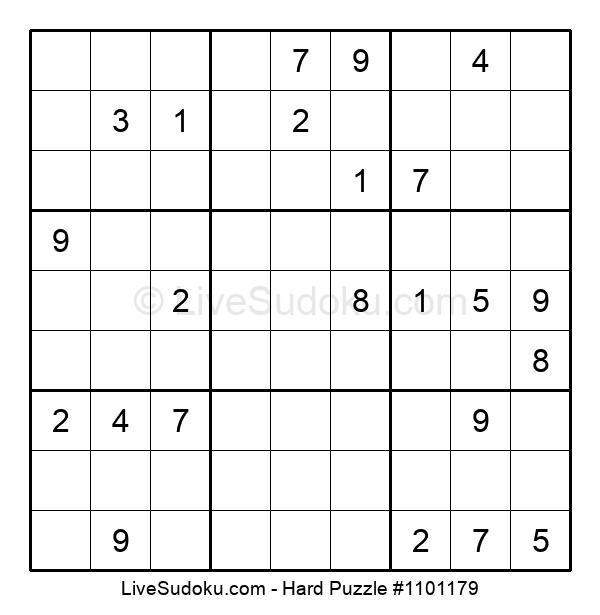 Hard Puzzle #1101179