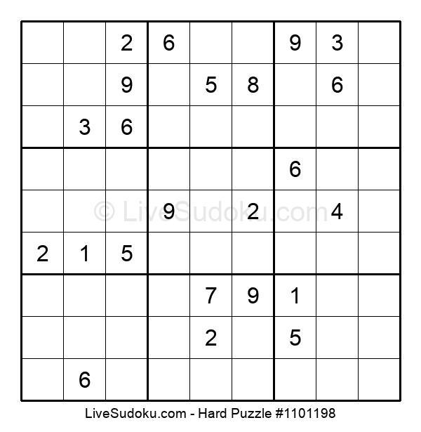 Hard Puzzle #1101198