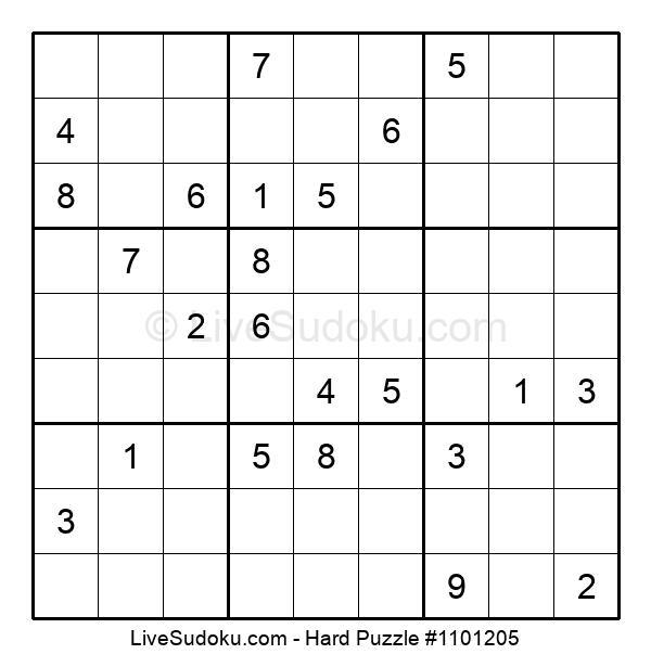 Hard Puzzle #1101205