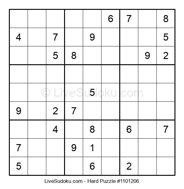 Hard Puzzle #1101206