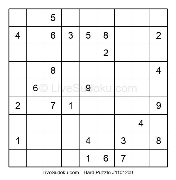 Hard Puzzle #1101209