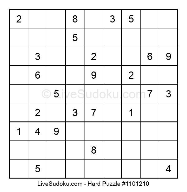 Hard Puzzle #1101210