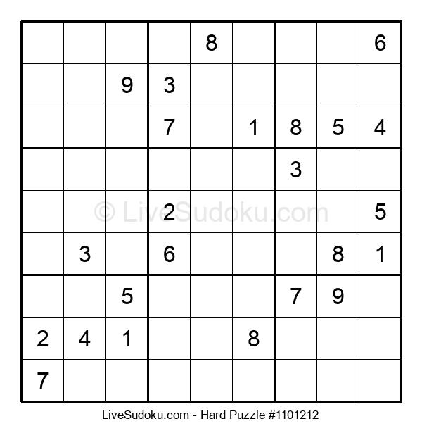 Hard Puzzle #1101212