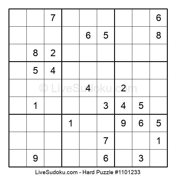 Hard Puzzle #1101233