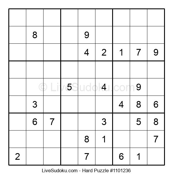 Hard Puzzle #1101236