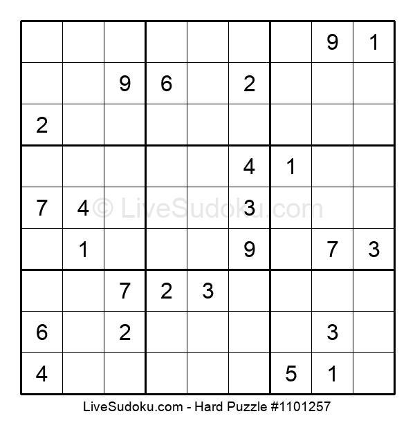 Hard Puzzle #1101257