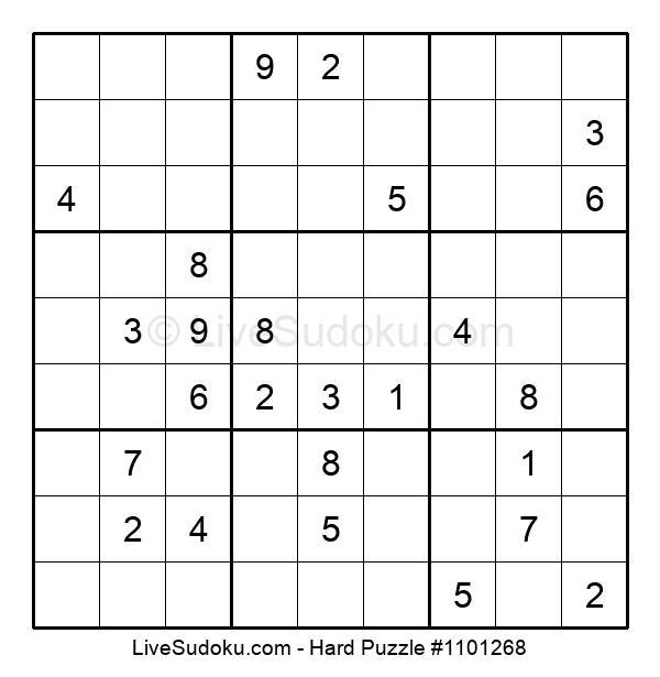 Hard Puzzle #1101268