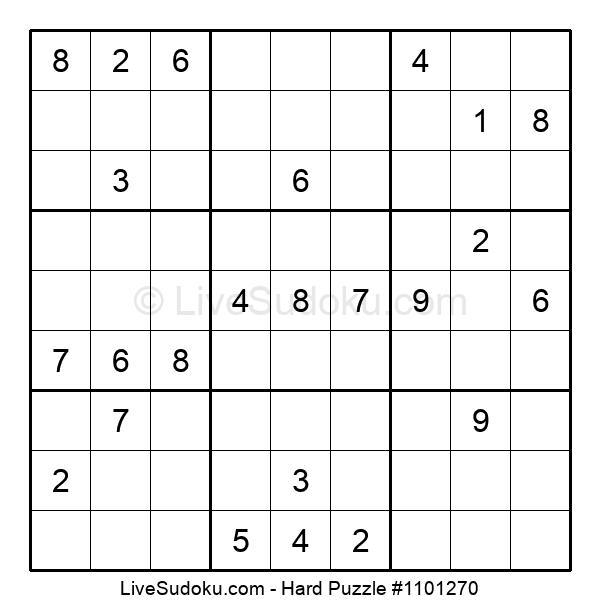 Hard Puzzle #1101270