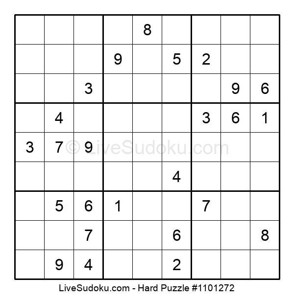 Hard Puzzle #1101272