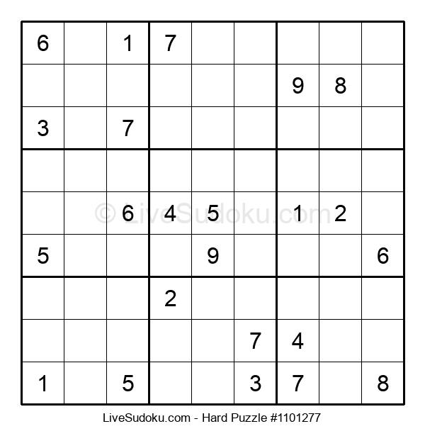Hard Puzzle #1101277