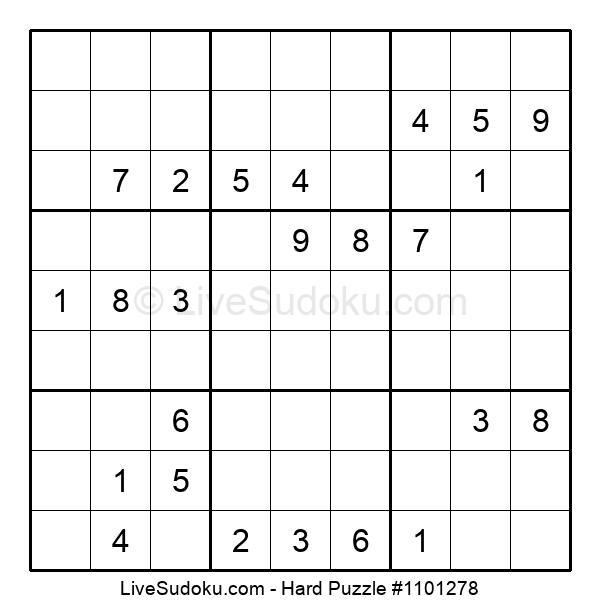 Hard Puzzle #1101278