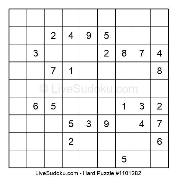 Hard Puzzle #1101282