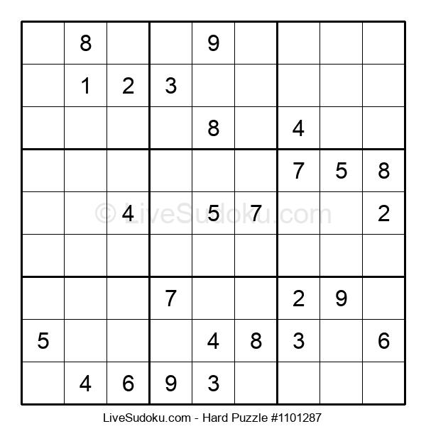 Hard Puzzle #1101287