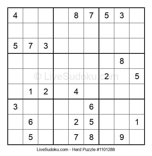 Hard Puzzle #1101288