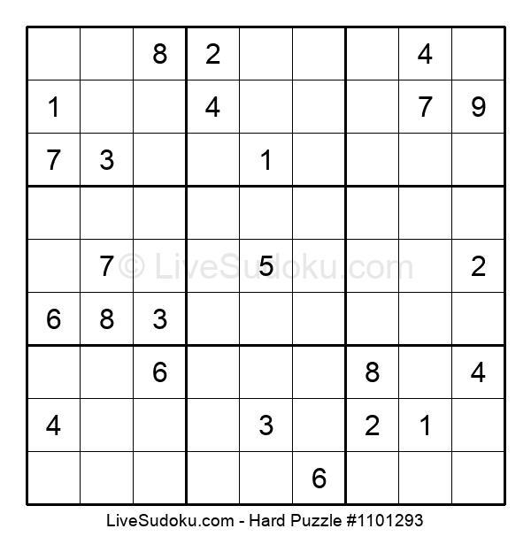 Hard Puzzle #1101293